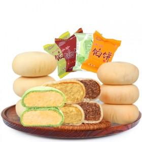 厦门馅饼特产1000g各种抹茶绿豆饼板栗饼红豆饼
