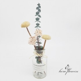 ins风干花家居摆设花束 花瓶小花束