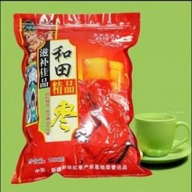 新疆和田大枣长4-5cm生吃枣 拍4斤发4斤