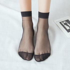夏季水晶丝一双散装袜子短款丝袜超薄隐形袜13340