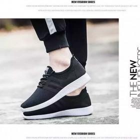 男士休闲运动鞋低帮系带时尚学生跑步鞋椰子鞋