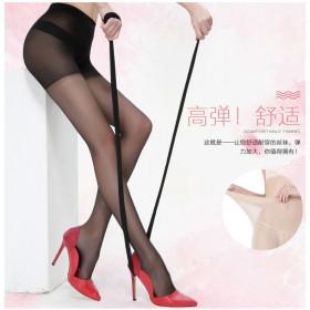 魔力袜3件装女士美腿丝袜连裤袜防勾丝大码夏季 薄款
