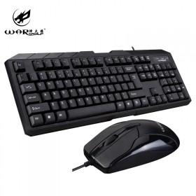 【鼠键套装】家用办公USB有线鼠标键盘套装