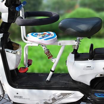 (限地区)电动车儿童座椅前置可以调节