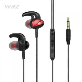 重低音电脑苹果手机通用耳塞式运动入耳式线控耳麦跑步