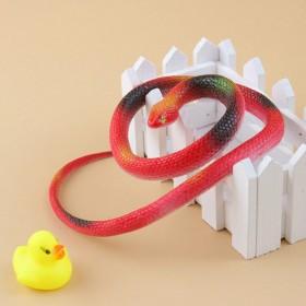 买一送一仿真蛇玩具眼镜蛇假田蛇模型儿童玩具软胶橡胶