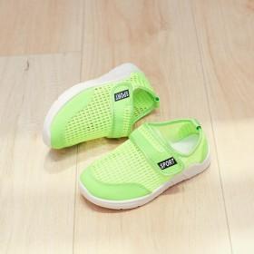 夏季儿童网鞋中大童运动鞋男学生鞋女休闲鞋防滑鞋漏洞