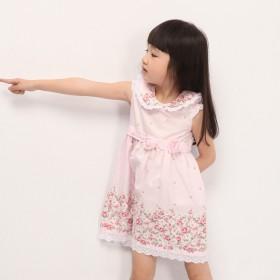 新款女童纯棉裙子连衣裙儿童装