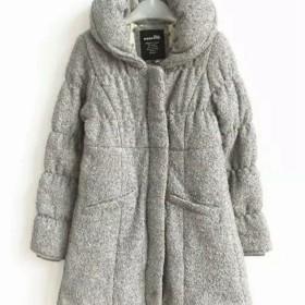 艾格棉服反季清仓处理女棉衣外套大衣