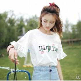 韩版短袖T恤女士上衣女装