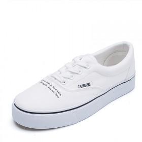 2018夏季新款小白鞋百搭平底学生帆布鞋女韩版