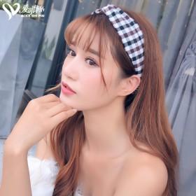 清新甜美森女系发带韩国饰品chic风宽边复古发箍i