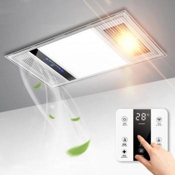 集成吊顶led照明卫生间风暖浴霸