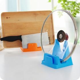 3个装 厨房置物架餐具铲勺架带接水盘锅盖架