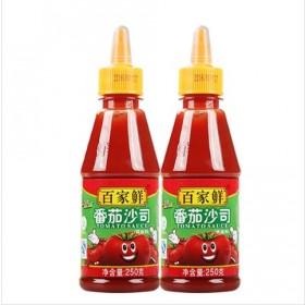 番茄沙司2瓶装共500g番茄酱意大利面酱