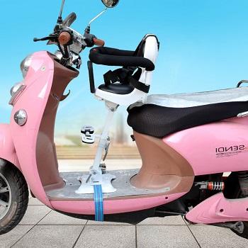 【包邮】 (限地区)电动车儿童座椅前置可以前后调节