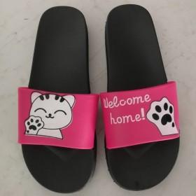 儿童卡通室内拖鞋女夏天亲子防滑可爱女宝宝家居凉鞋