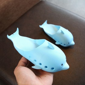 海豚造型大中小儿童拖鞋