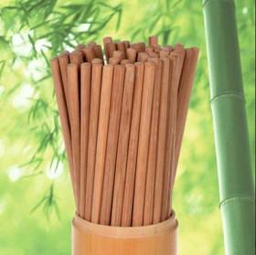 30双 无漆无蜡碳化竹筷子