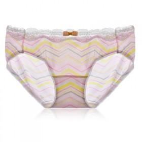 第2条半价拍4条 高级少女冰丝内裤纯棉档底裤