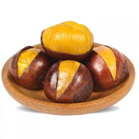 有机板栗新鲜野生油粒大粒大板栗糖炒栗子5斤