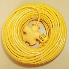 10米电动车充电插座延长线插排