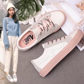 韩版小白鞋板鞋女鞋学生运动鞋