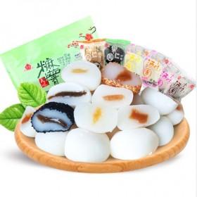 特产麻薯6口味500g干吃汤圆麻糬糍粑甜品糕点心
