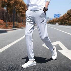 夏季运动裤男长裤薄款