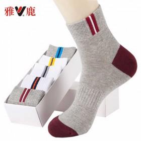 10双装 男袜防臭运动袜春夏男士袜中袜短袜