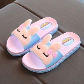 邂新品女童拖鞋夏季儿童室内防滑软底浴室