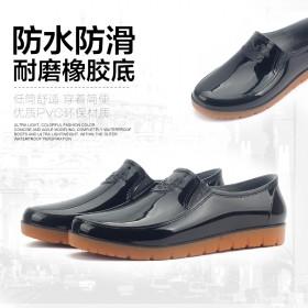 雨鞋男低帮雨鞋男士水鞋雨鞋迷彩防水鞋厨房鞋