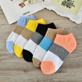 袜子女夏季短袜浅口袜爱心女袜短筒女士船袜子