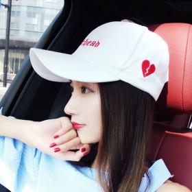 韩版学生休闲百搭鸭舌帽女夏季出游遮阳帽秋冬街头潮