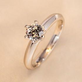 s925纯银戒指个性开口食指戒男女士冷淡风学生指环