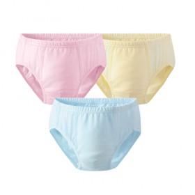 3条装A类纯棉儿童内裤婴儿学步裤