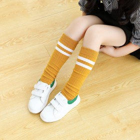 堆堆袜女童中筒袜秋冬薄款日系学院风儿童高筒袜长筒袜