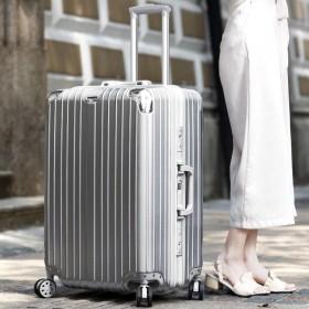 铝框拉杆箱万向轮行李箱28寸26寸密码箱