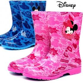 儿童雨鞋男童女童宝宝水鞋迪士尼卡通防滑雨靴