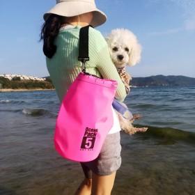 温泉海边沙滩防水包防水袋【5升单肩】拍下备注颜色