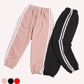 女童裤子春秋季儿童运动裤男童学生长裤抖音新款小女孩