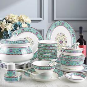 景德镇餐具碗碟套装 家用28件套