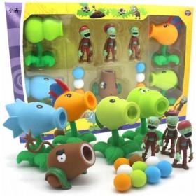 植物大战僵尸玩具豪华套装大礼盒 豌豆寒冰火焰