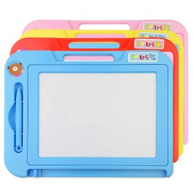 【送3张拼图】彩色儿童画板可擦式魔术写字板【萌】
