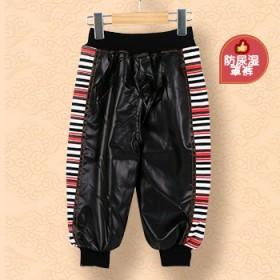 包邮婴儿隔尿裤新生儿童尿不湿罩裤秋冬裤子宝宝开裆皮