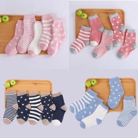 大中小童袜婴儿袜子宝宝袜子纯棉中筒儿童袜子全棉