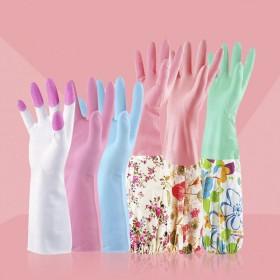 【三双特惠装】家友四季款家务手套清洁洗碗手套薄款炫