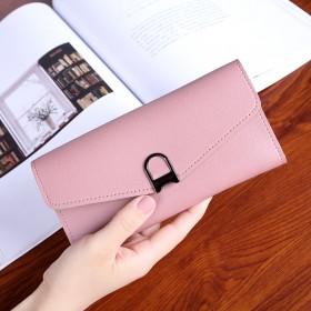 新款时尚可爱学生韩版小清新女长款钱包