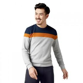 海澜之家品牌剪标男士长袖卫衣T恤打底衫男士上衣