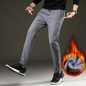 加绒男式运动裤男秋冬款学生速干男裤男士休闲长裤韩版